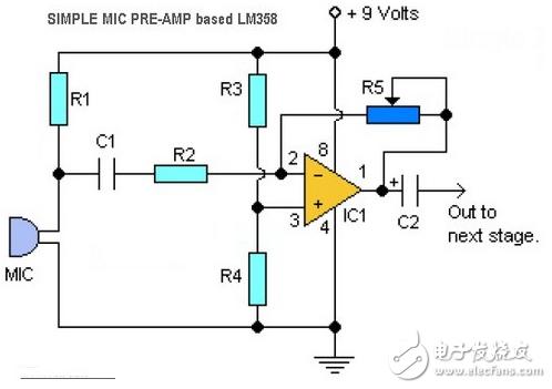 集成运算放大电路_lm358音频放大电路图(7款电路图分享) – 徐自远的乱七八糟小站